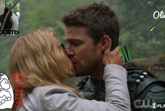Olicity Season 5 Arrow Lian Yu