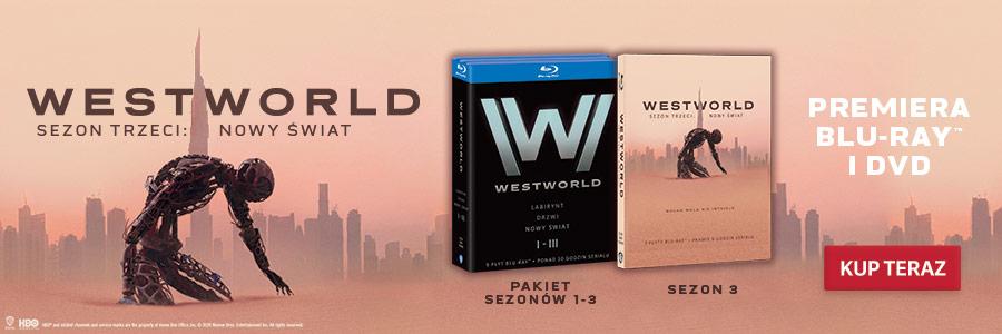Westworld Premiera 3 sezonu na DVD i Blu-ray