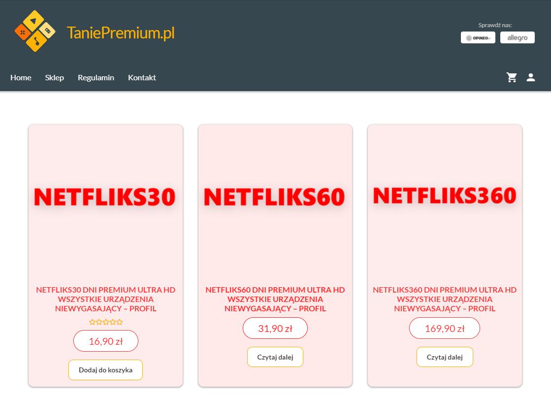 sklep taniepremium.pl